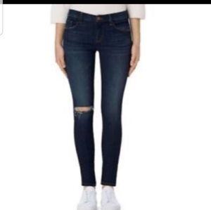 J Brand Mid Rise Skinny Jeans Avalon Size 26